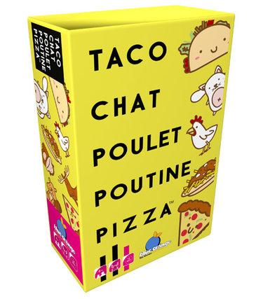 Blue Orange Taco, chat, poulet, poutine, pizza (Français)