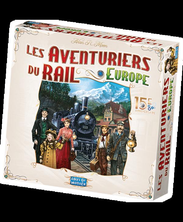 Les Aventuriers du Rail Europe - 15e Anniversaire (Français)
