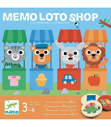 Djeco Memo Loto Shop