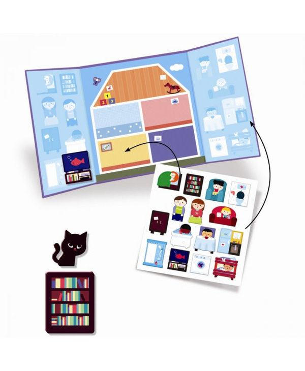 Stickers Épais - La maison