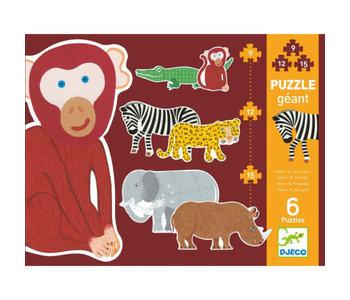Puzzle géant - Henri et ses amis