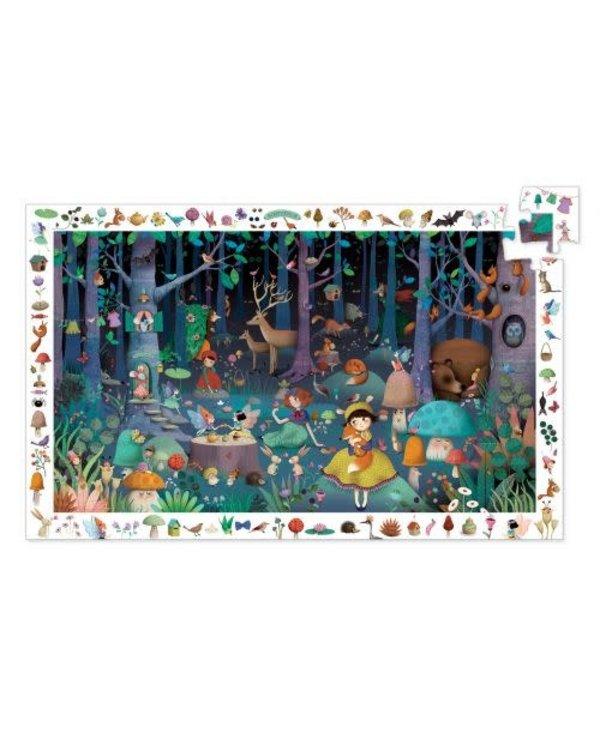 Puzzle observation - Forêt enchantée 100mcx