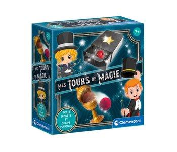 Mes tours de magie - Boîte secrète et coquetier magique
