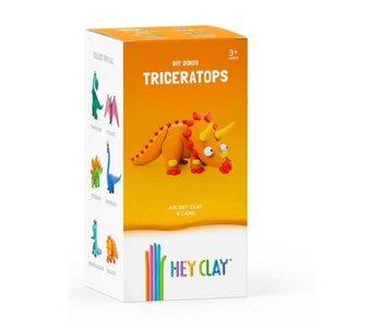 Ensemble d'argile - Tricératops