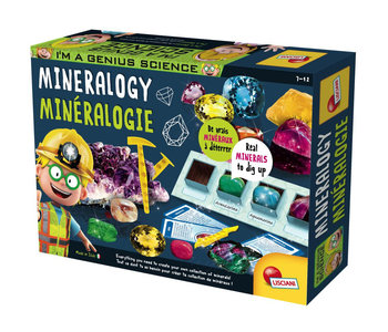 I'm a genius - Laboratoire de minéralogie