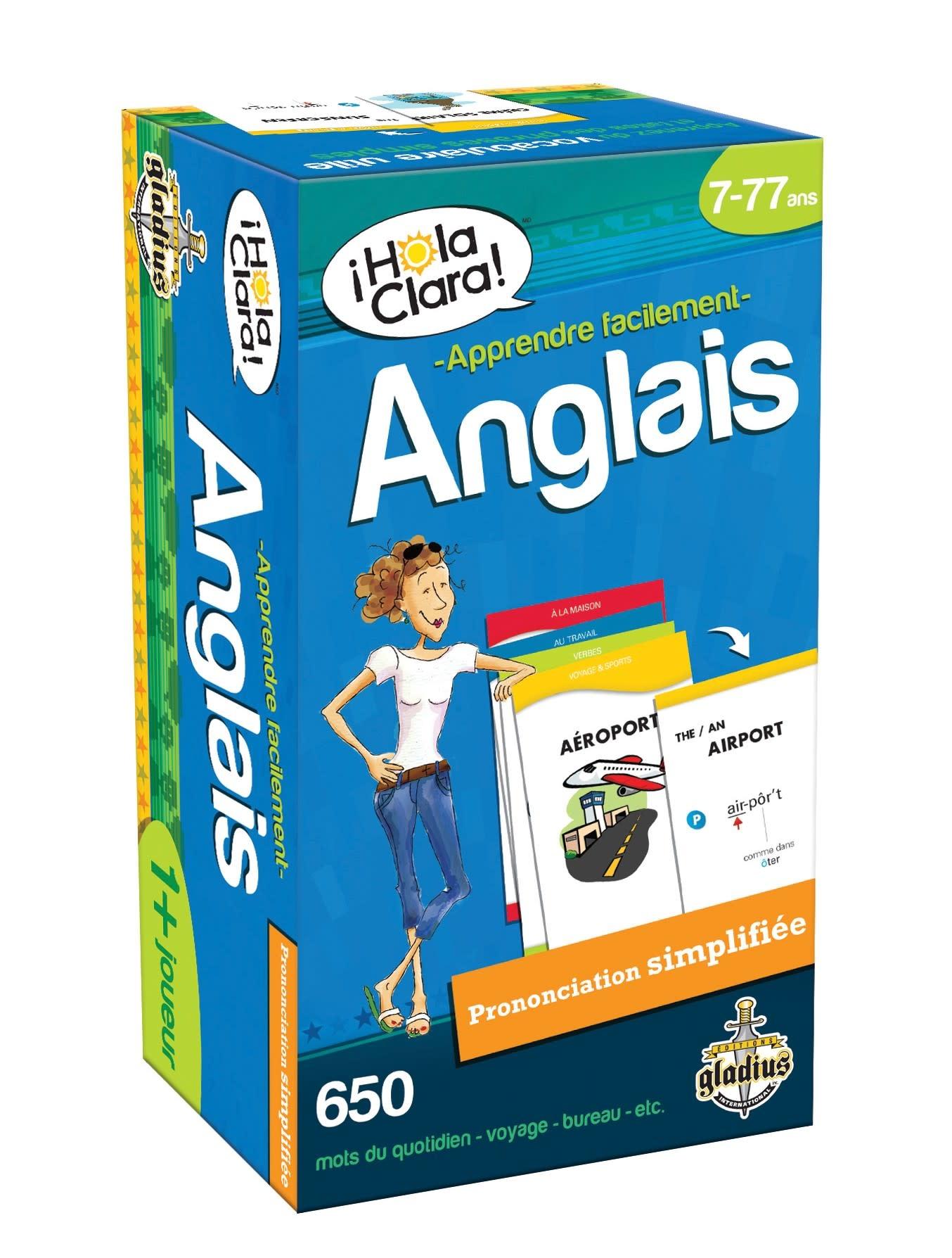 Hola Clara - Anglais