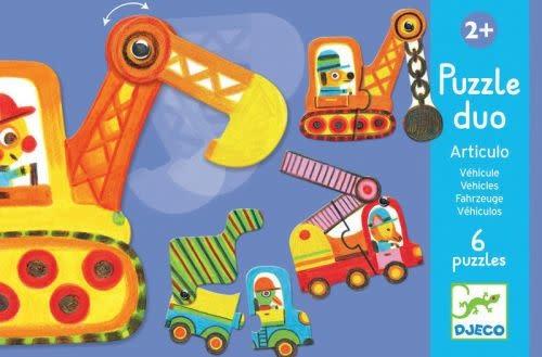 Puzzle Duo - Articulo véhicules