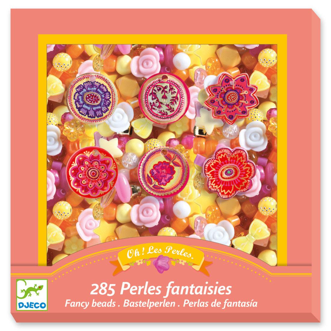 Perles fantaisie - Fleurs