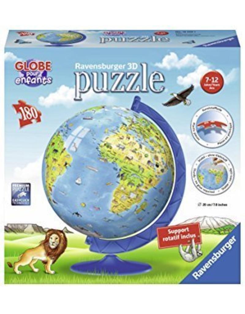 a3e02c097b1 Ravensburger Globe terrestre pour enfants puzzle 3D 180mcx ...