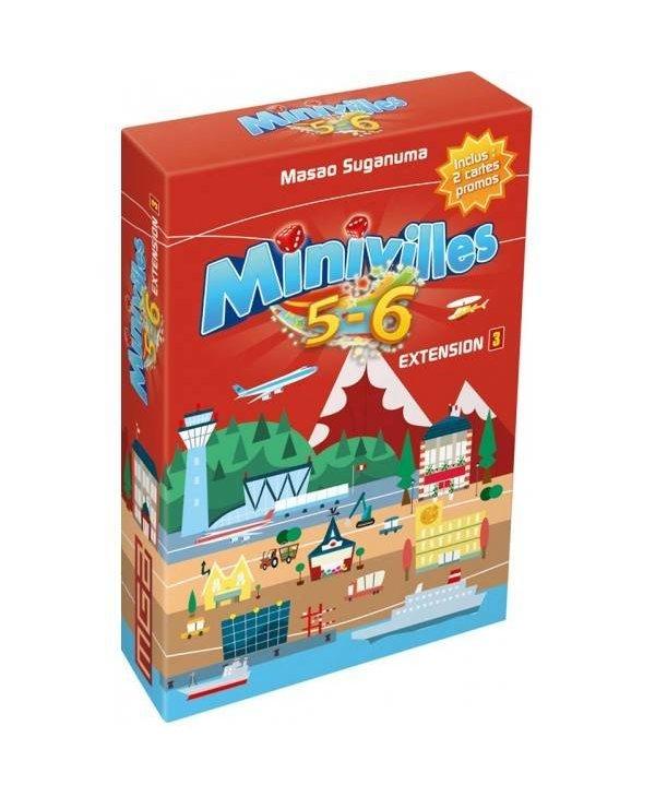 Minivilles - Extension 5-6 joueurs