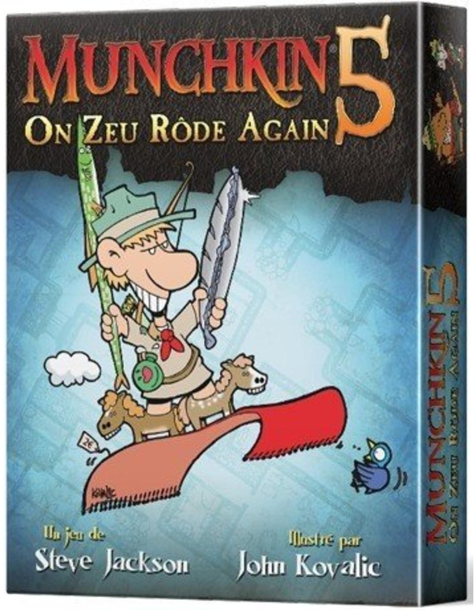Edge Munchkin 5 : On Zeu Rôde Again