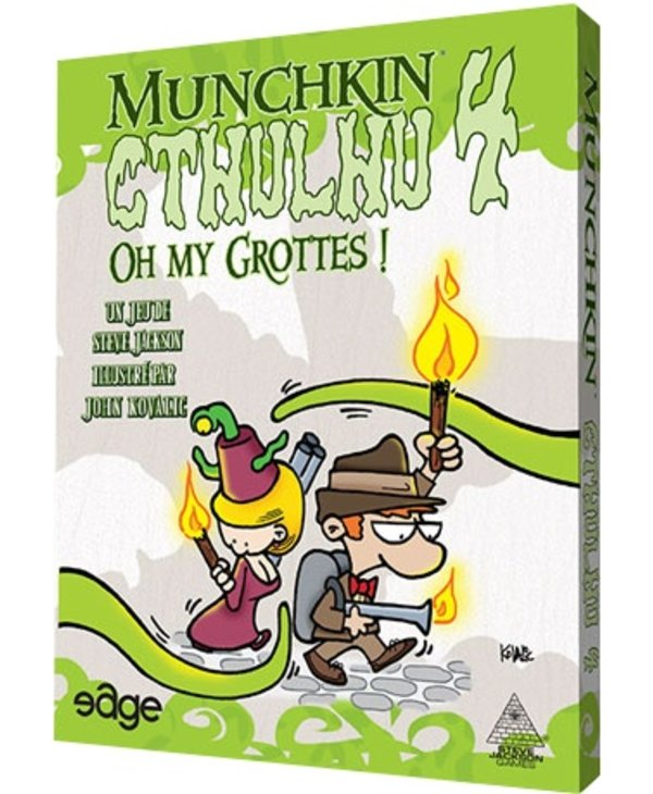 Munchkin 4 : Oh my grottes !
