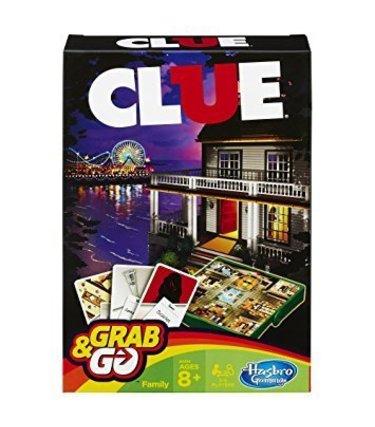 Hasbro Clue version voyage