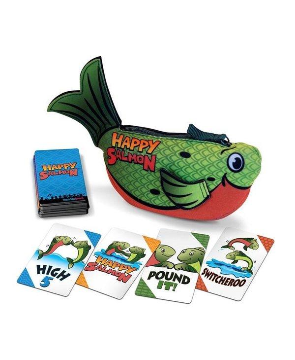 Happy Salmon - Vert (Anglais)