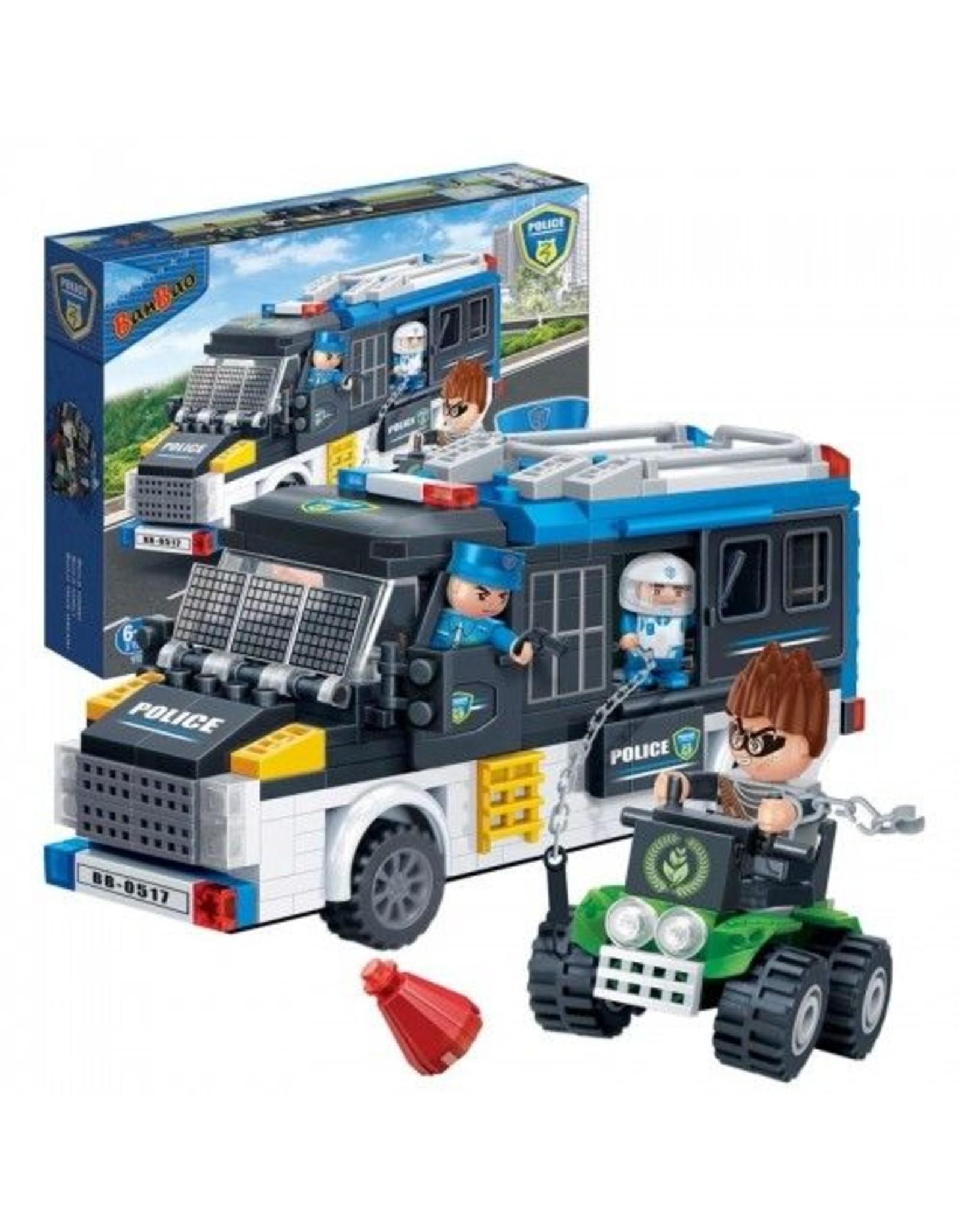 Banbao Banbao - Camion de police 325pcs