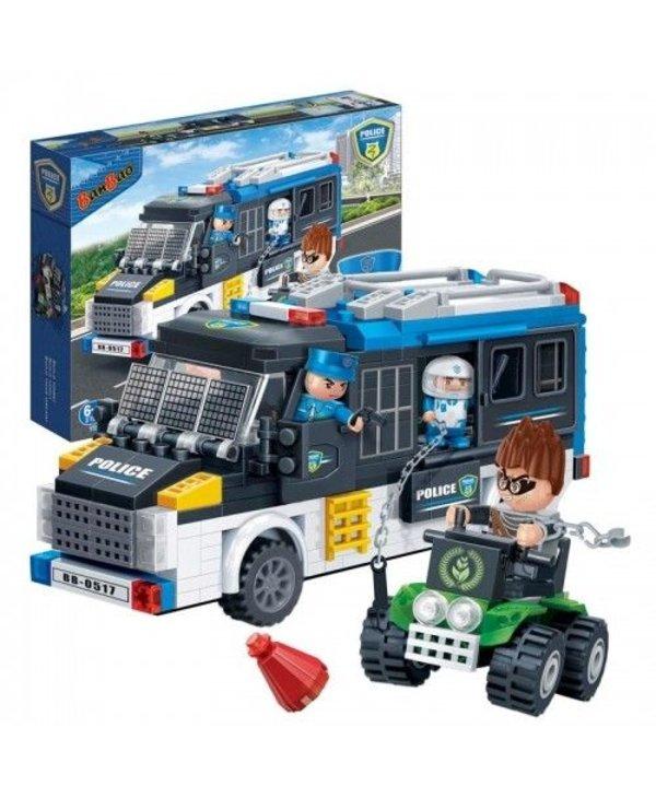 Banbao - Camion de police 325pcs