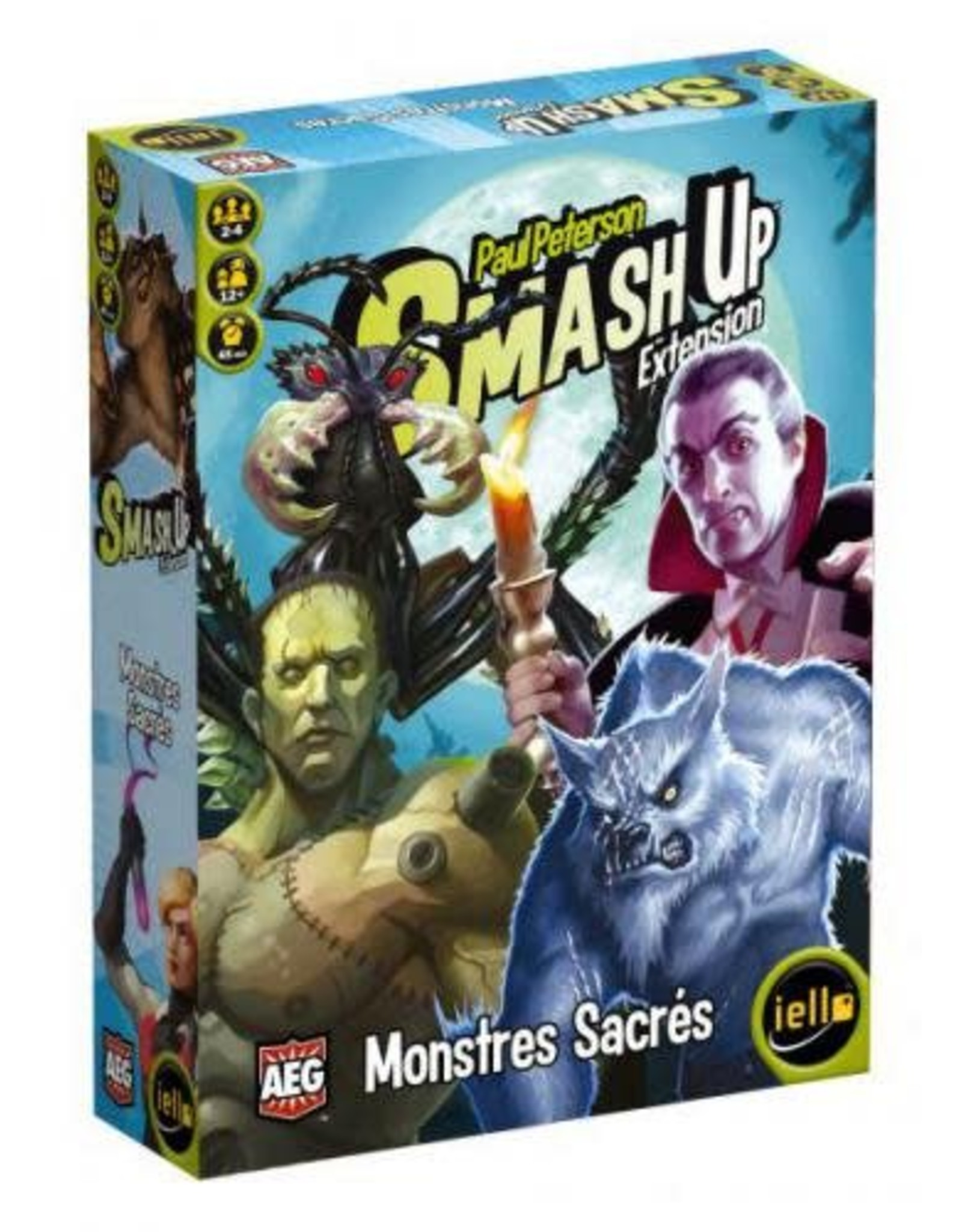 iello Smash Up - Extension Mostres Sacrés