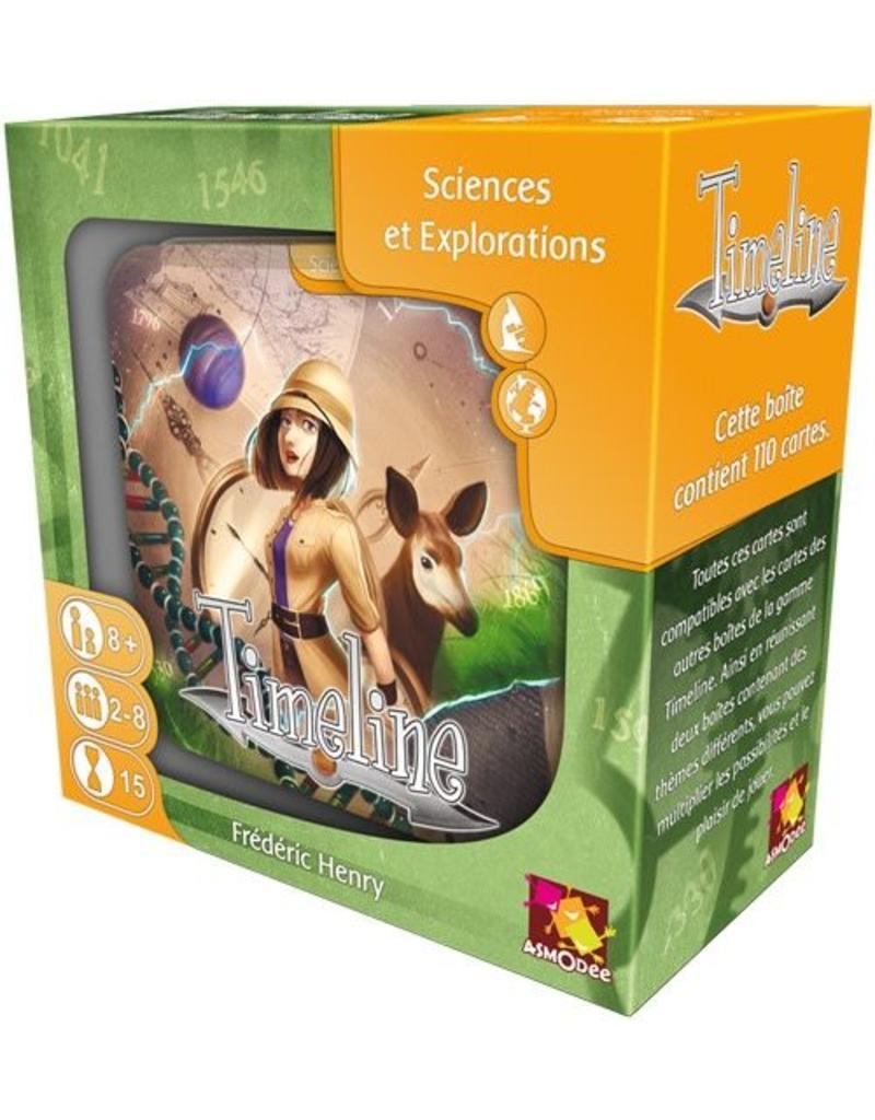 Asmodee Timeline Sciences et Explorations