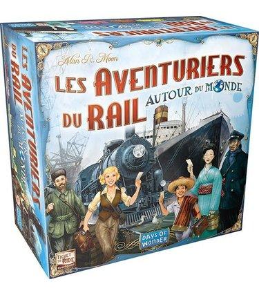 Days of Wonders Les Aventuriers du Rail Autour du Monde