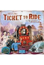 Days of Wonders Les Aventuriers du Rail Asie (Extension)