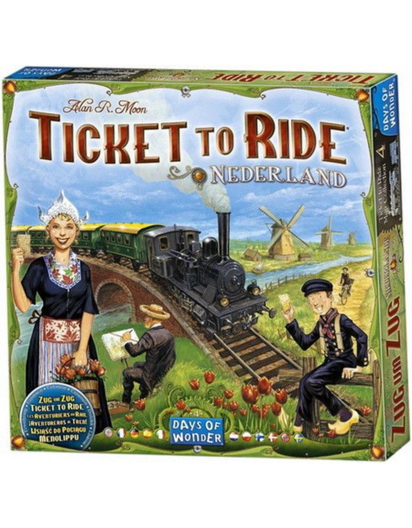Days of Wonders Les Aventuriers du Rail Pays-Bas (Extension)