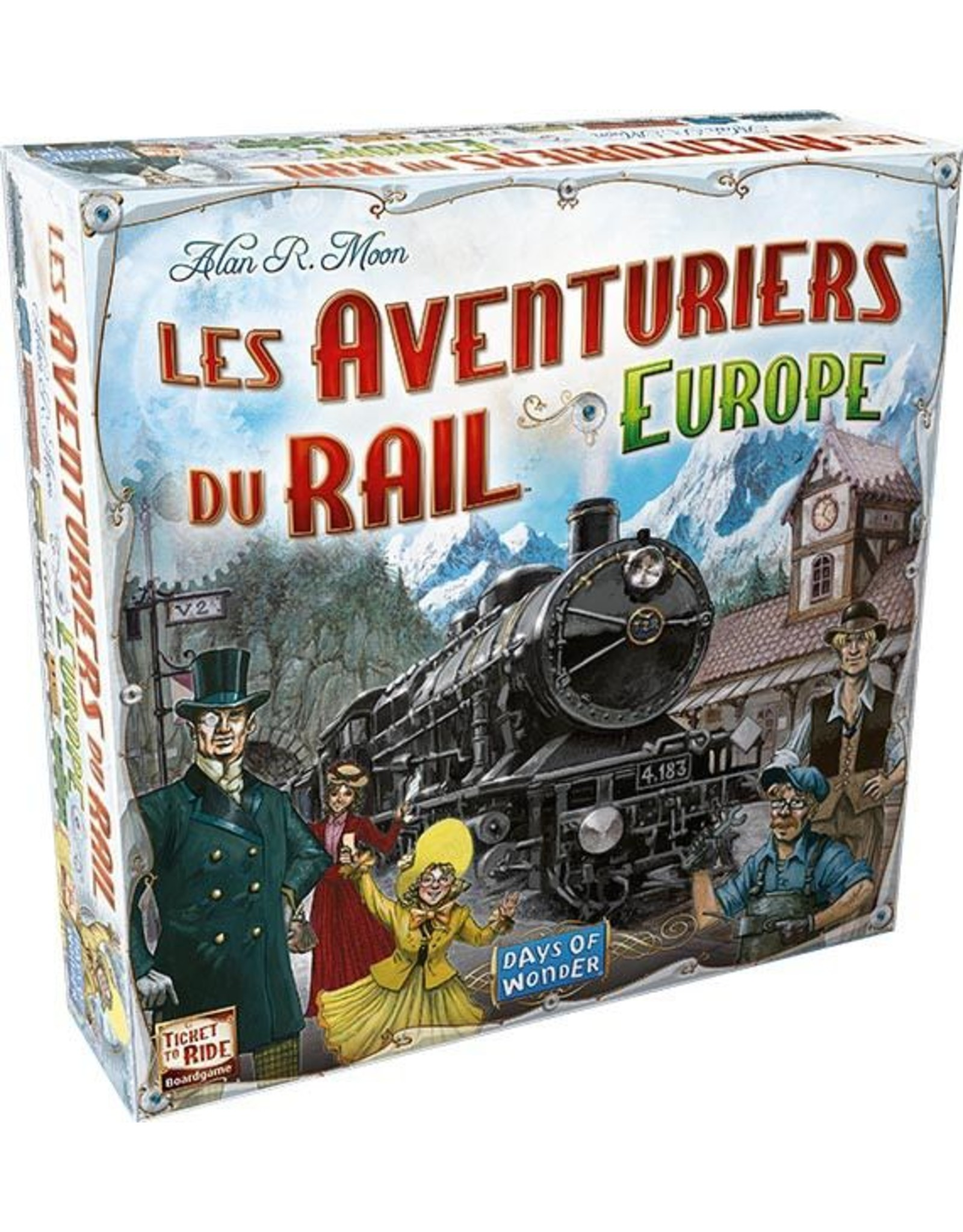 Days of Wonders Les Aventuriers du Rail Europe