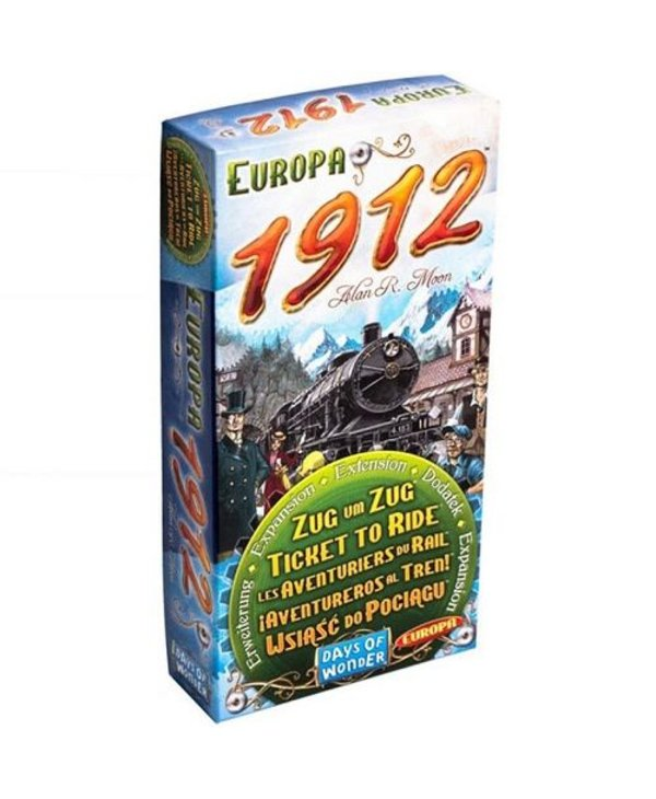 Les Aventuriers du Rail Europa 1912 (Extension)
