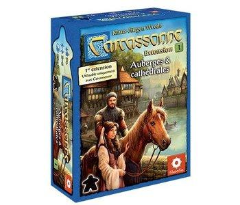 Carcassonne Ext.1 - Auberges et Cathédrales
