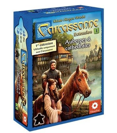 Filosofia Carcassonne Ext.1 - Auberges et Cathédrales