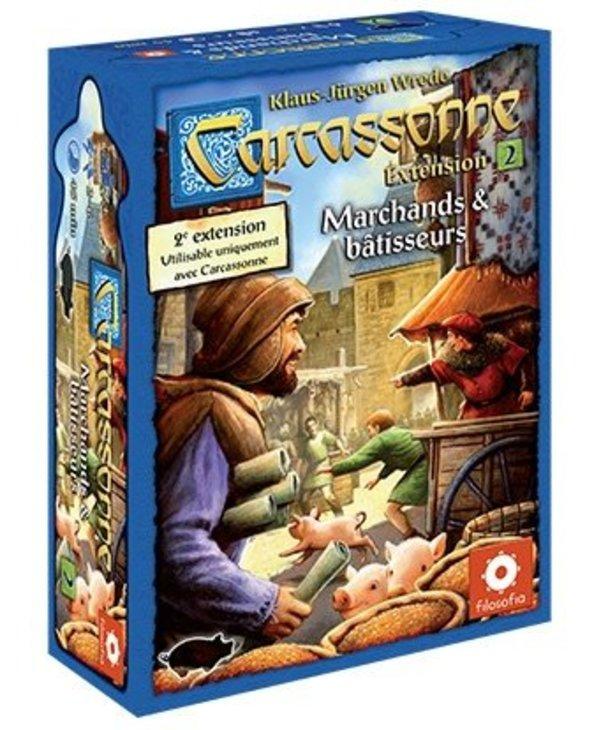 Carcassonne Ext.2 - Marchands et Bâtisseurs