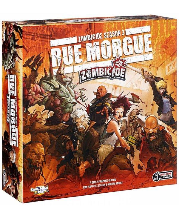 Zombicide Saison 3 Rue Morgue (Français)