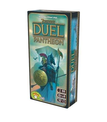 Repos production 7 Wonders Duel Panthéon (Extension)