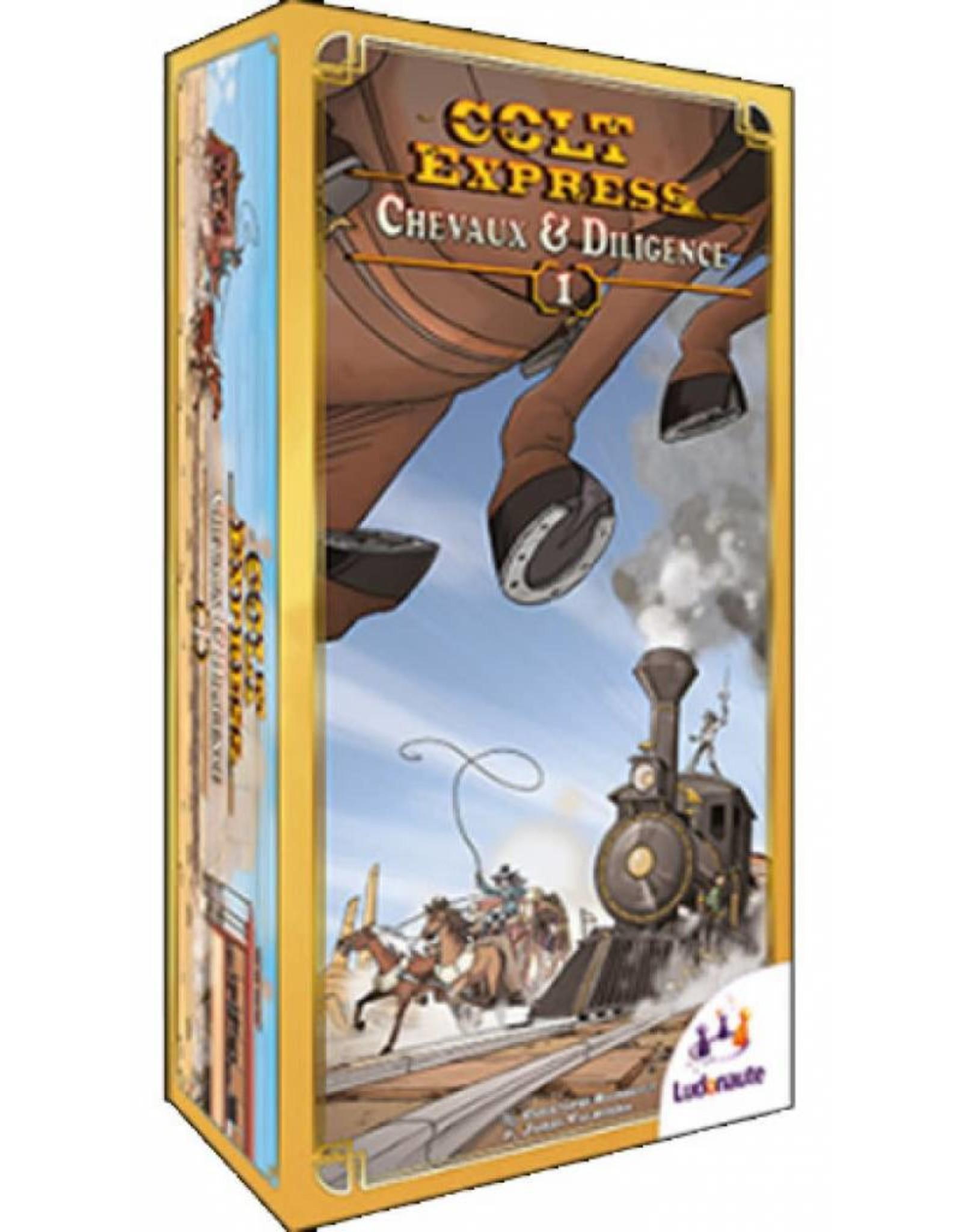Colt Express Chevaux et Diligence (Extension)