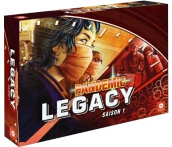 Pandémie Legacy - Boîte rouge