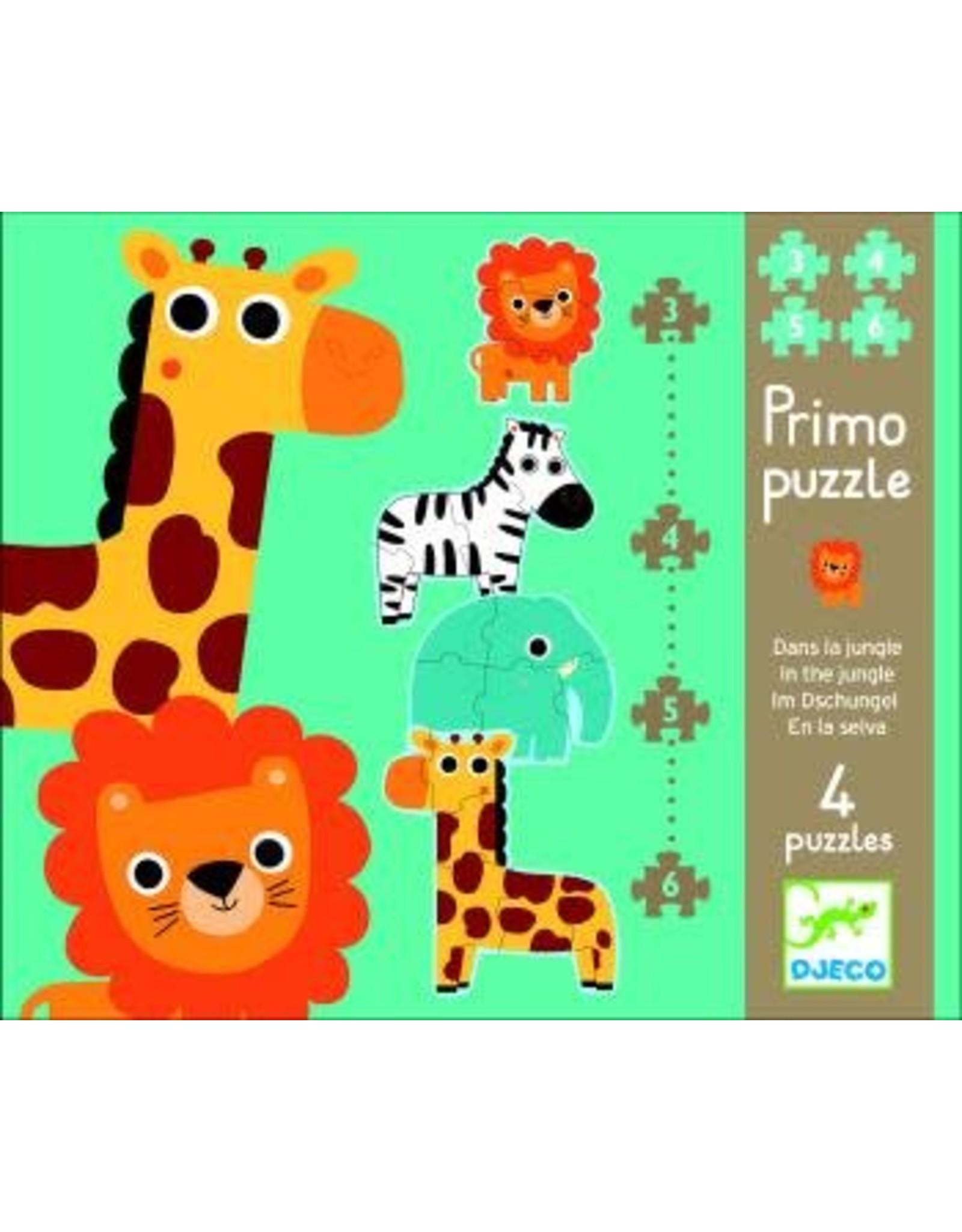 Djeco Primo Puzzle - Dans la jungle