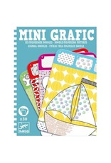 Djeco Mini Grafic - Coloriages Doodles