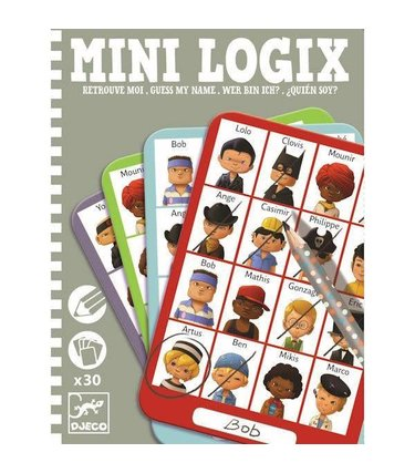 Djeco Mini Logix - Retrouve-Moi Jules
