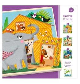 Djeco Puzzle Cabana