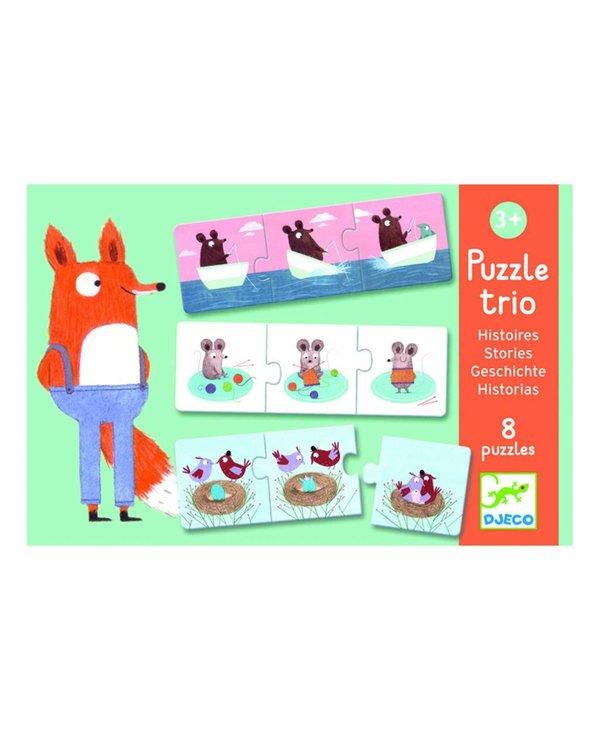 Puzzle Trio - Histoires