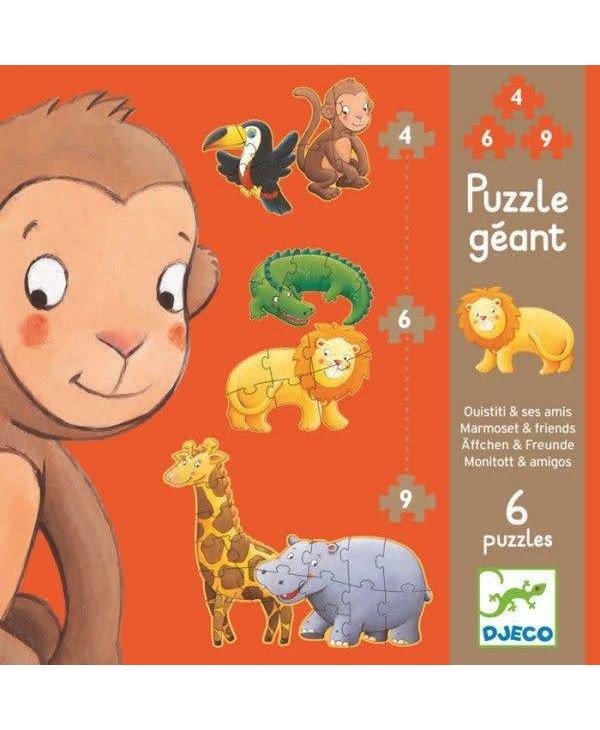 Puzzle Géant - Ouistiti et ses amis