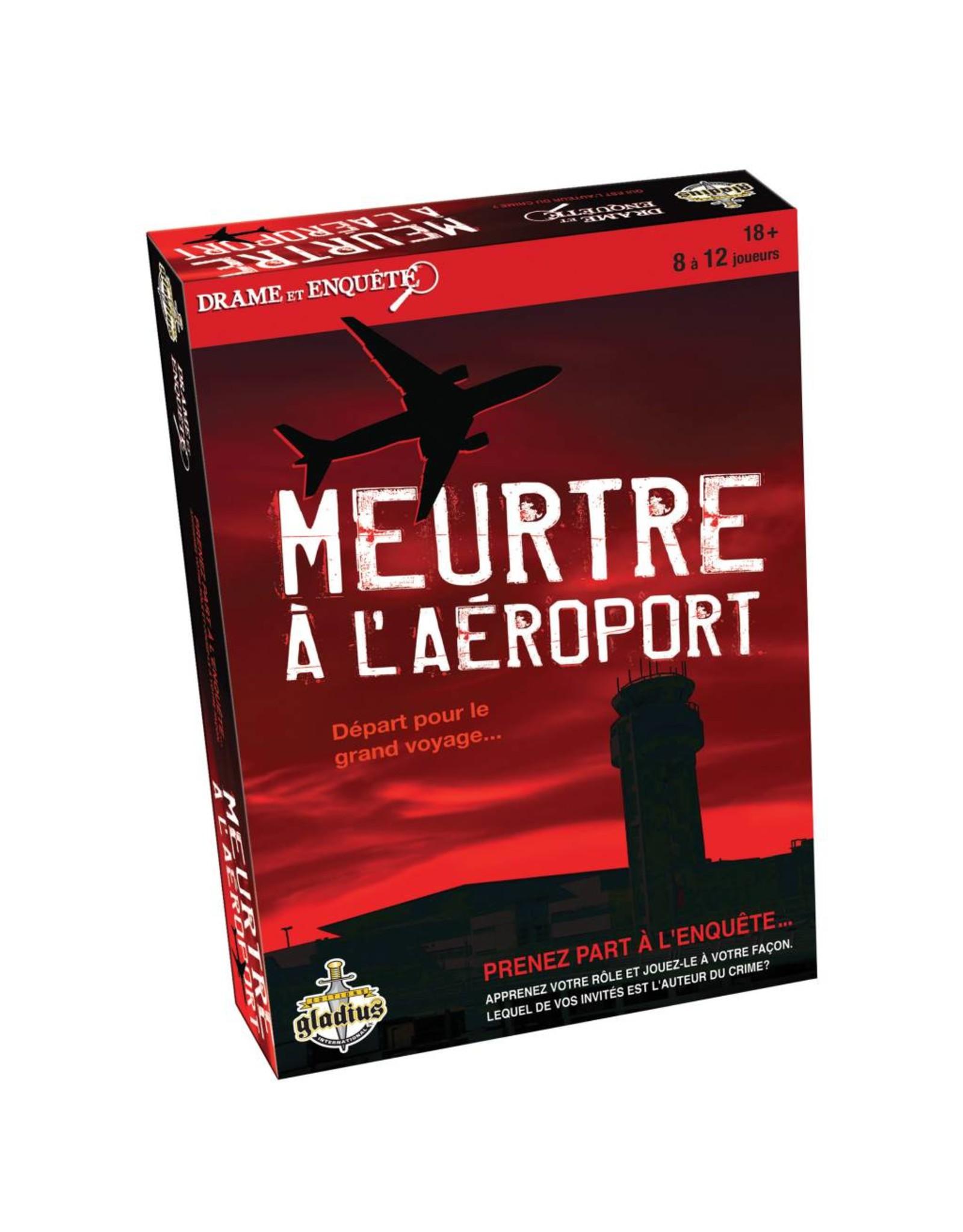 Gladius Meurtre à l'aéroport - Meurtre et Mystère