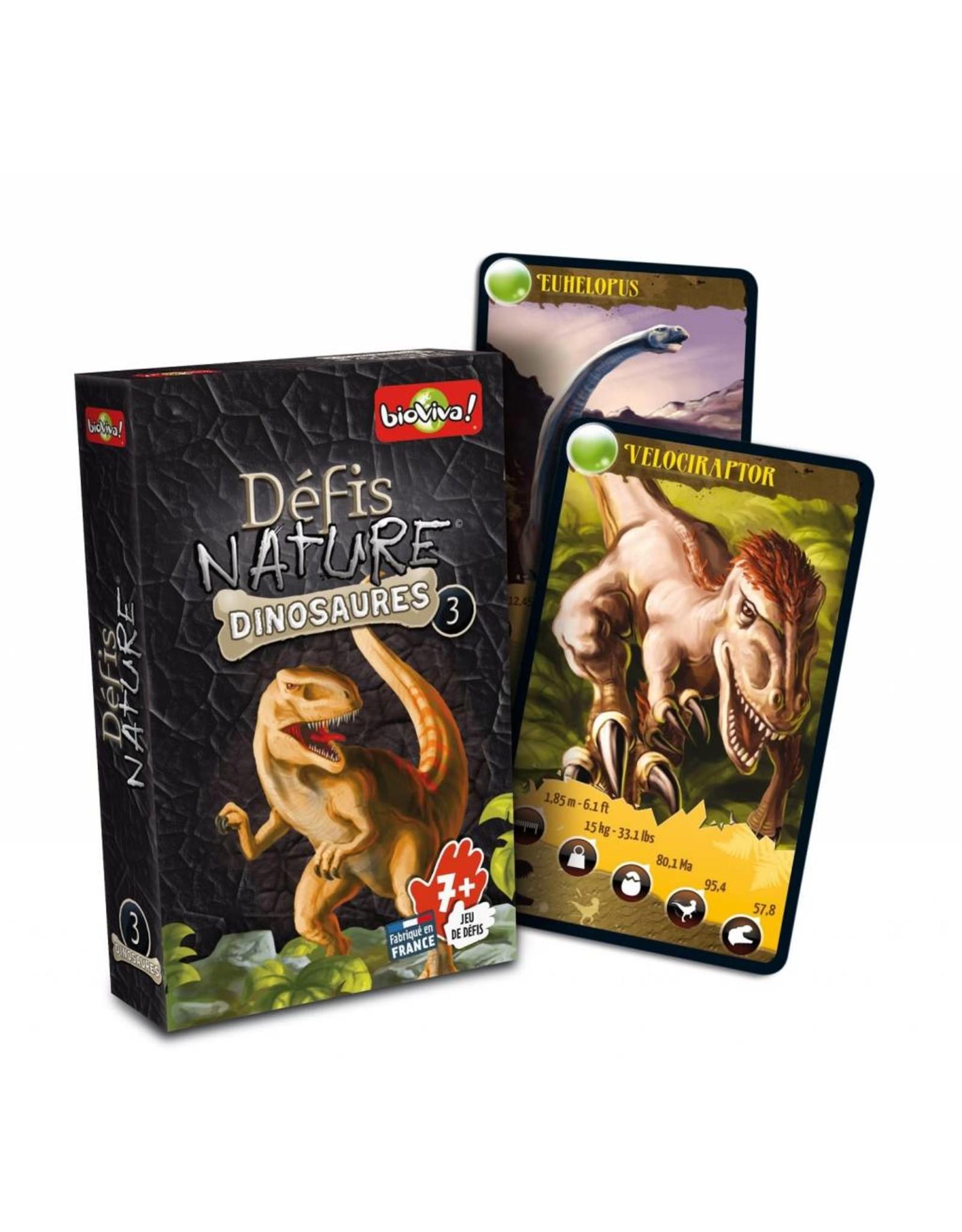 Défis Nature - Dinosaures 3 (boîte noire)