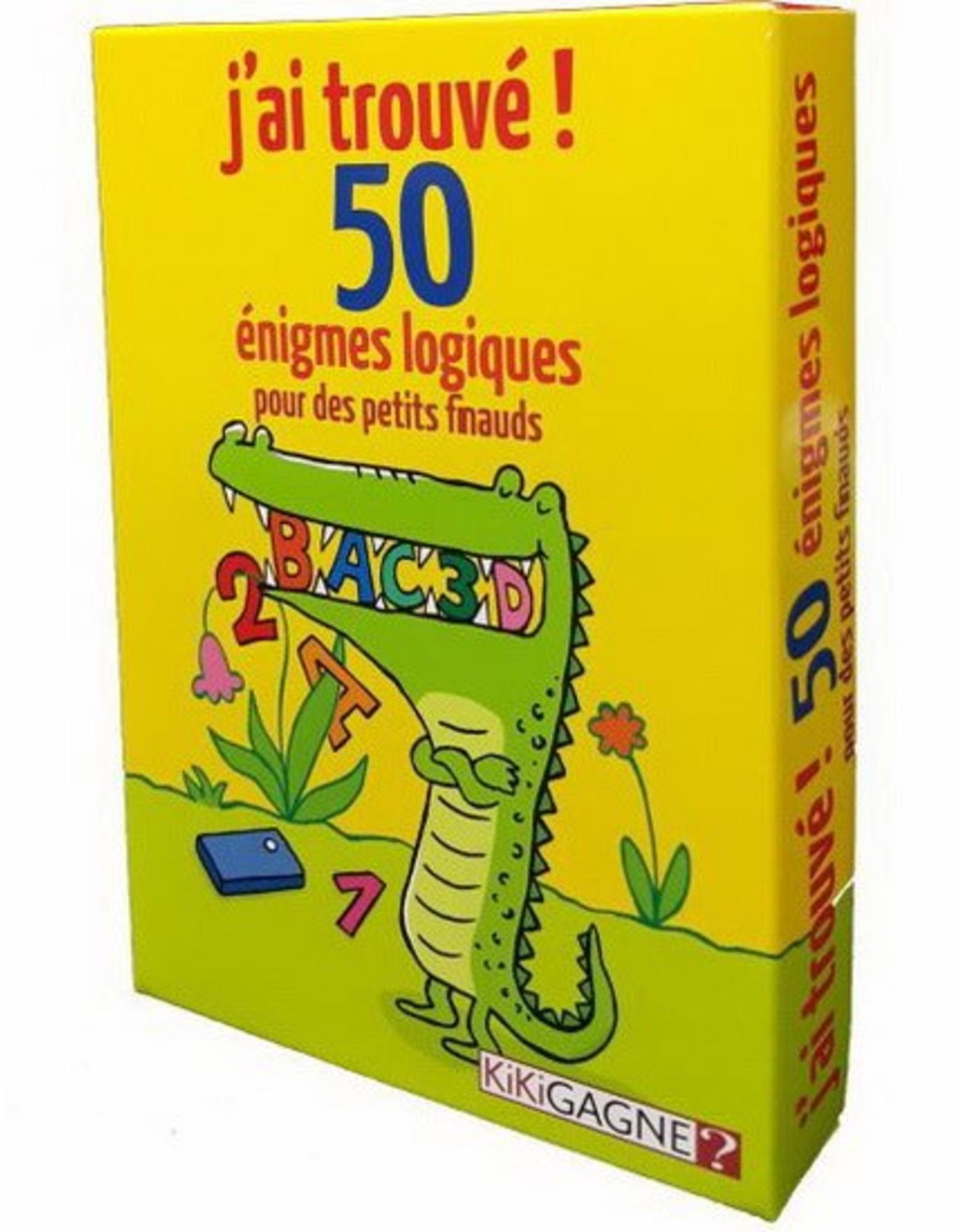 Kikigagne 50 énigmes logiques pour des petits finauds