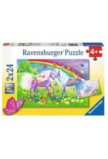 Ravensburger Chevaux et papillons multicolores 2x24mcx