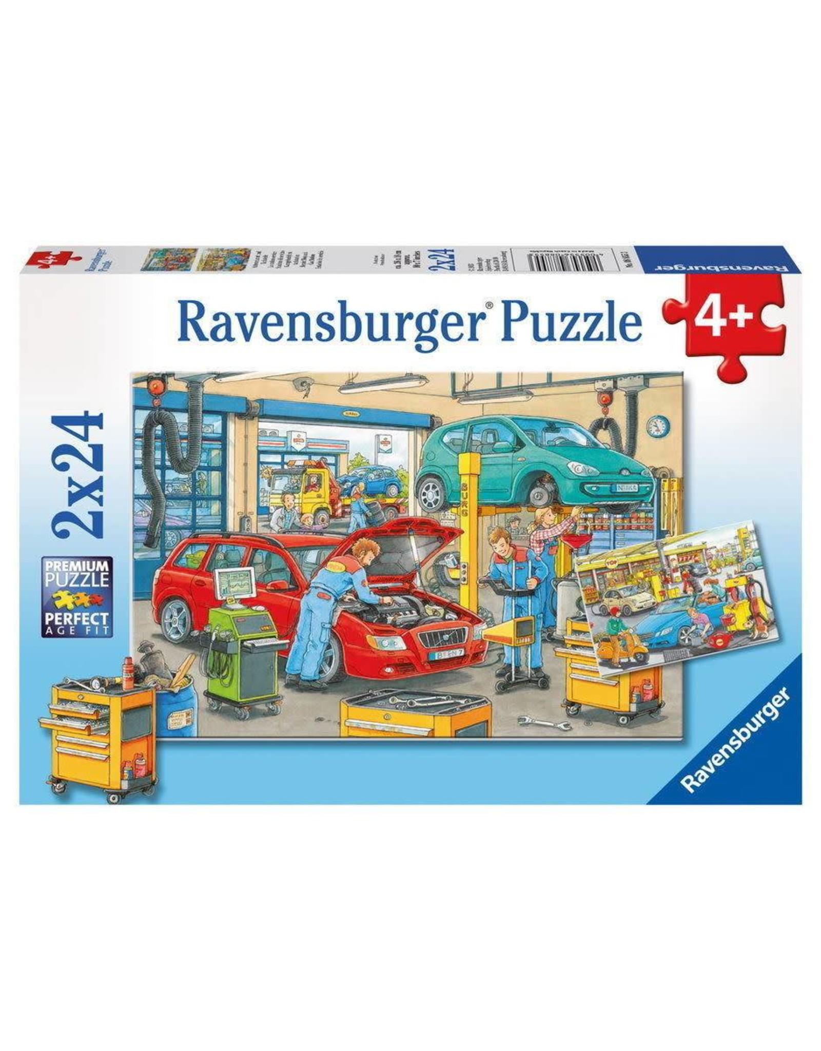 Ravensburger La station-service 2x24mcx