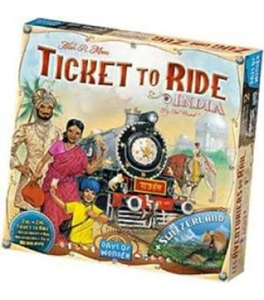 Days of Wonders Les Aventuriers du Rail - Inde