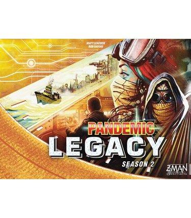 Pandémie Legacy - Saison 2 (boîte jaune)