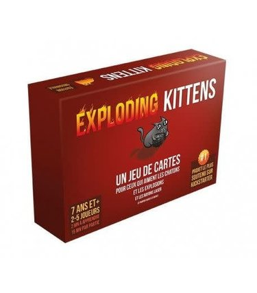 Asmodee Exploding kittens (Français)