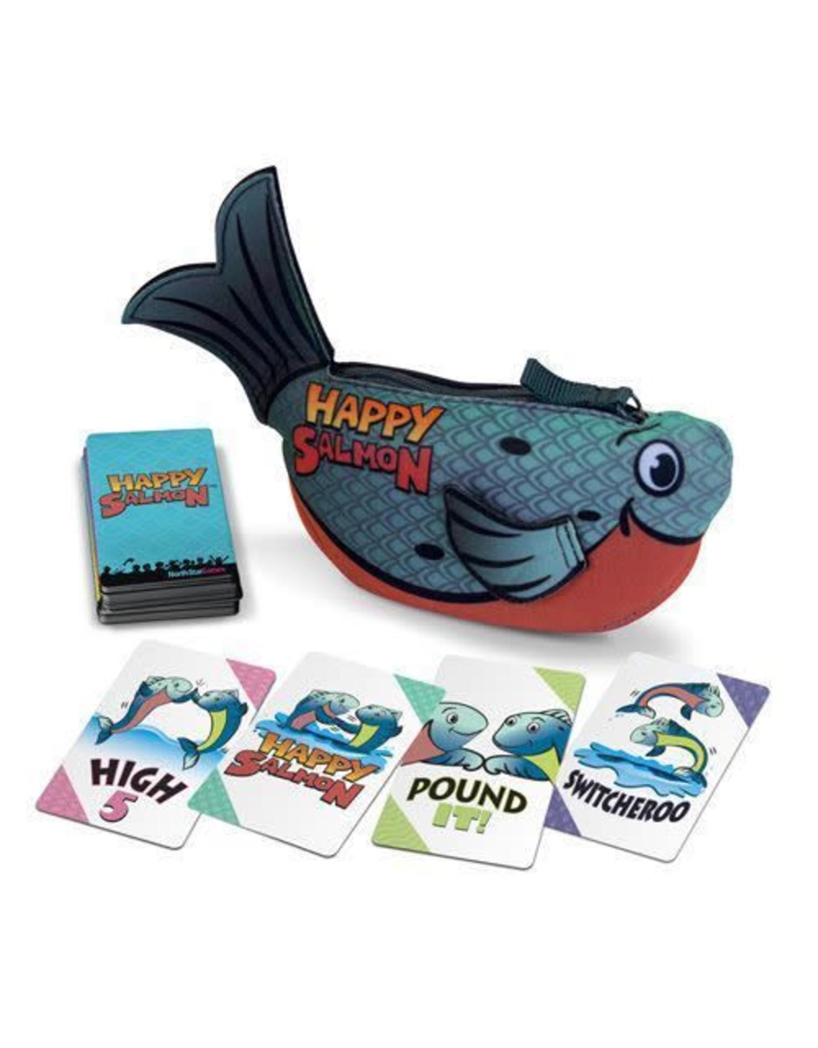 Happy Salmon (Bleu)