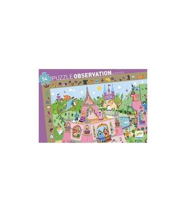 Djeco Puzzle observation - Princesses